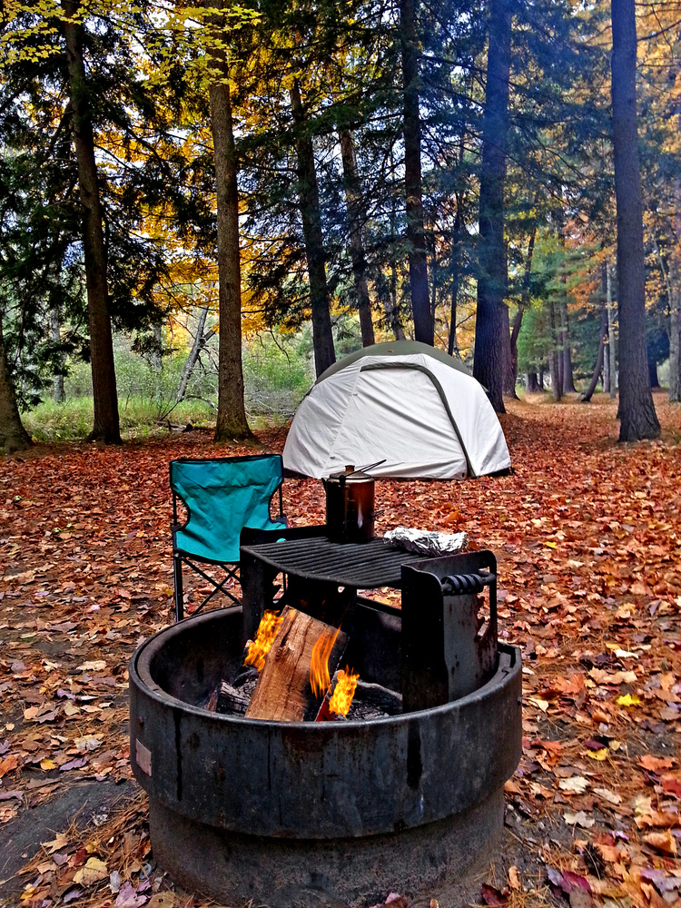 solo camping at its best by Andy Marek