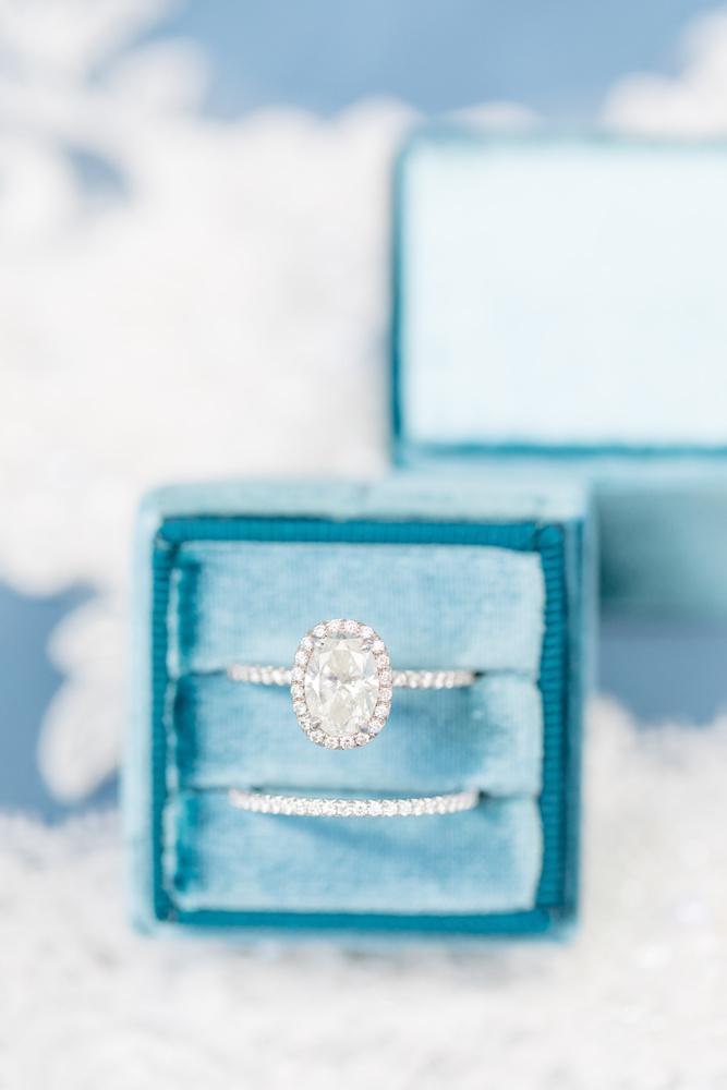 Wedding Rings in Mrs Box by Katie Dixon
