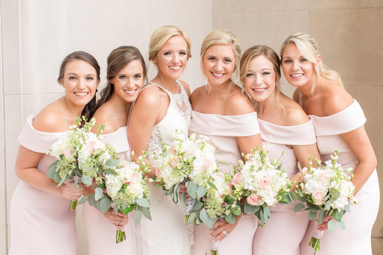 Bride & Bridesmaids by Katie Dixon