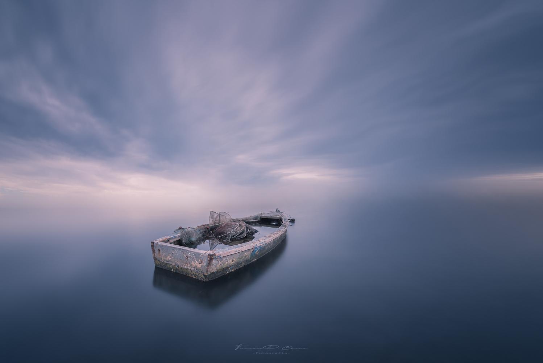Con rumbo al infinito. by Fran D. Cuevas