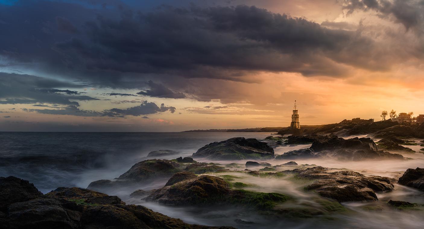 The Lighthouse of Ahtopol by Kostadin Bay