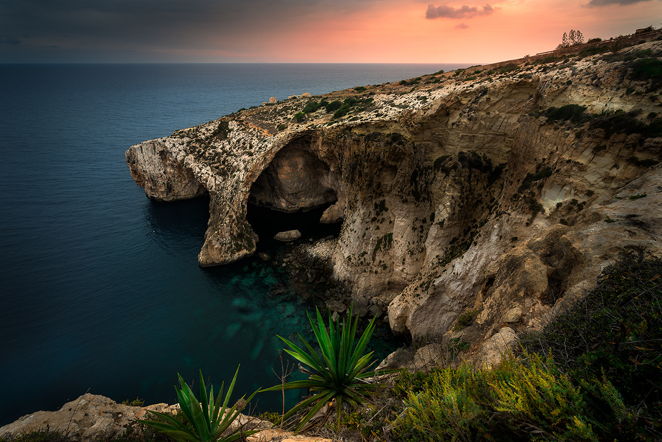 The Blue Grotto by Kostadin Bay