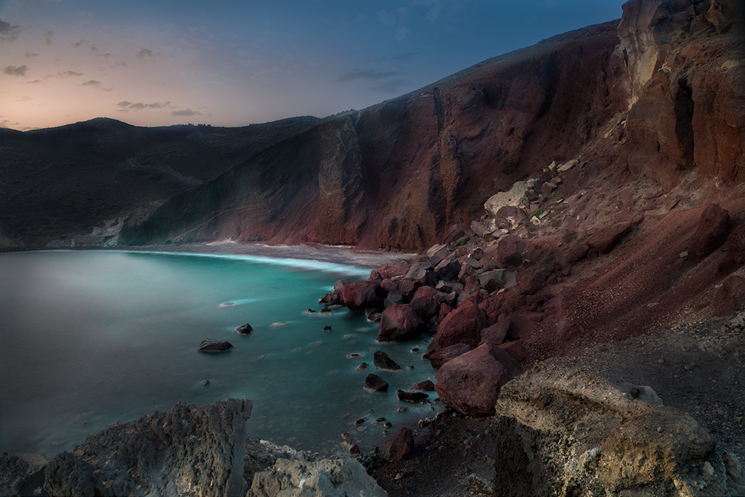 The Red Beach by Kostadin Bay