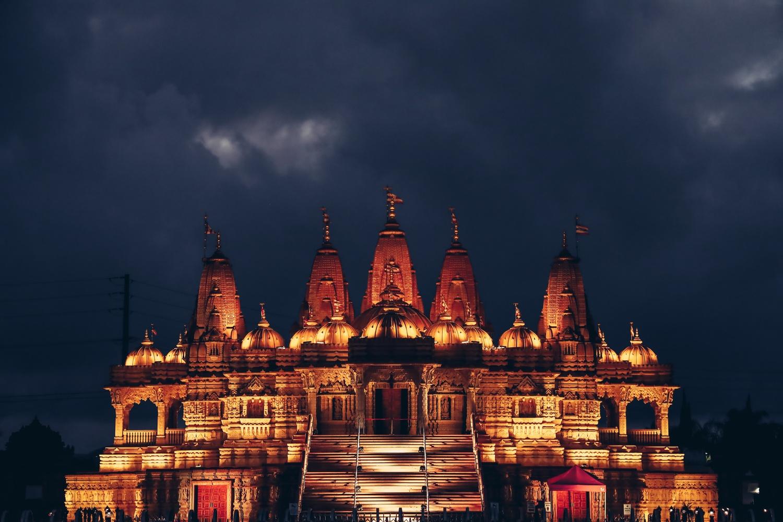 Hindu Temple by marco garcia
