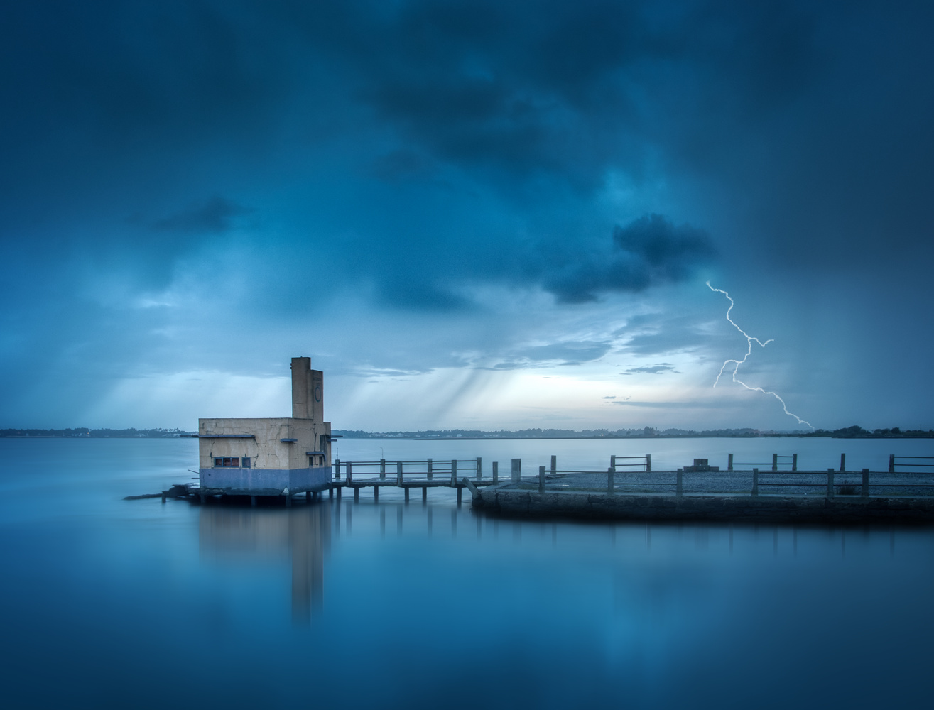 Blue Stormy Morning by Tiago Marques