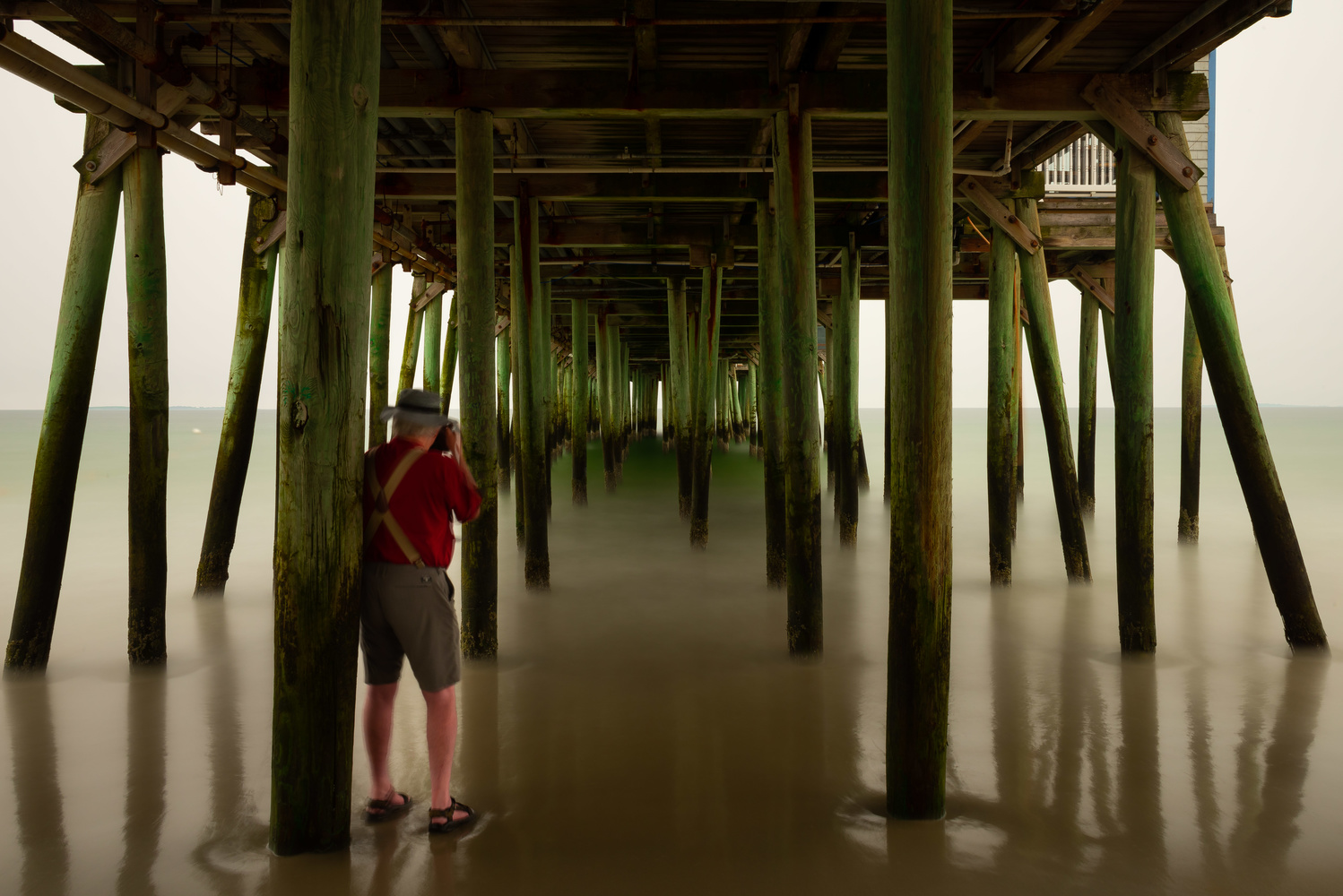 Old Orchard Pier by Sam Worden