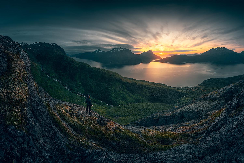 Sunset over Norway by Yuriy Garnaev