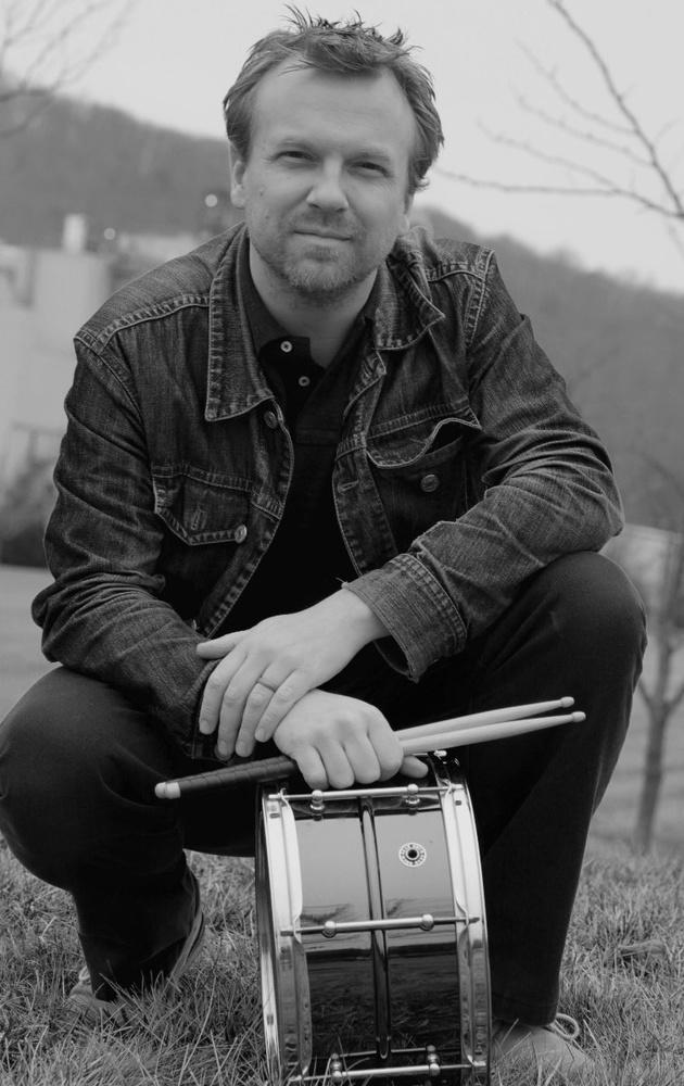 Drummer Portrait, by Loren Vinal