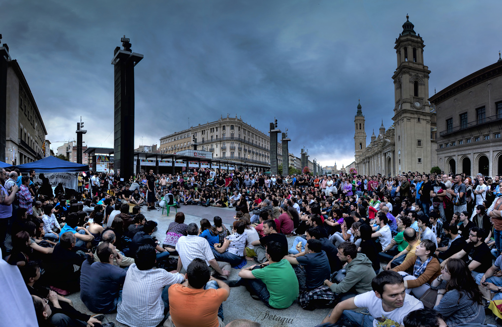 Demonstrations in Spain by Alexandro Lacadena