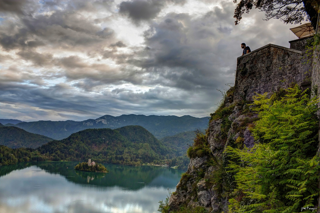 Bled Lake in Slovenia (HDR) by Alexandro Lacadena
