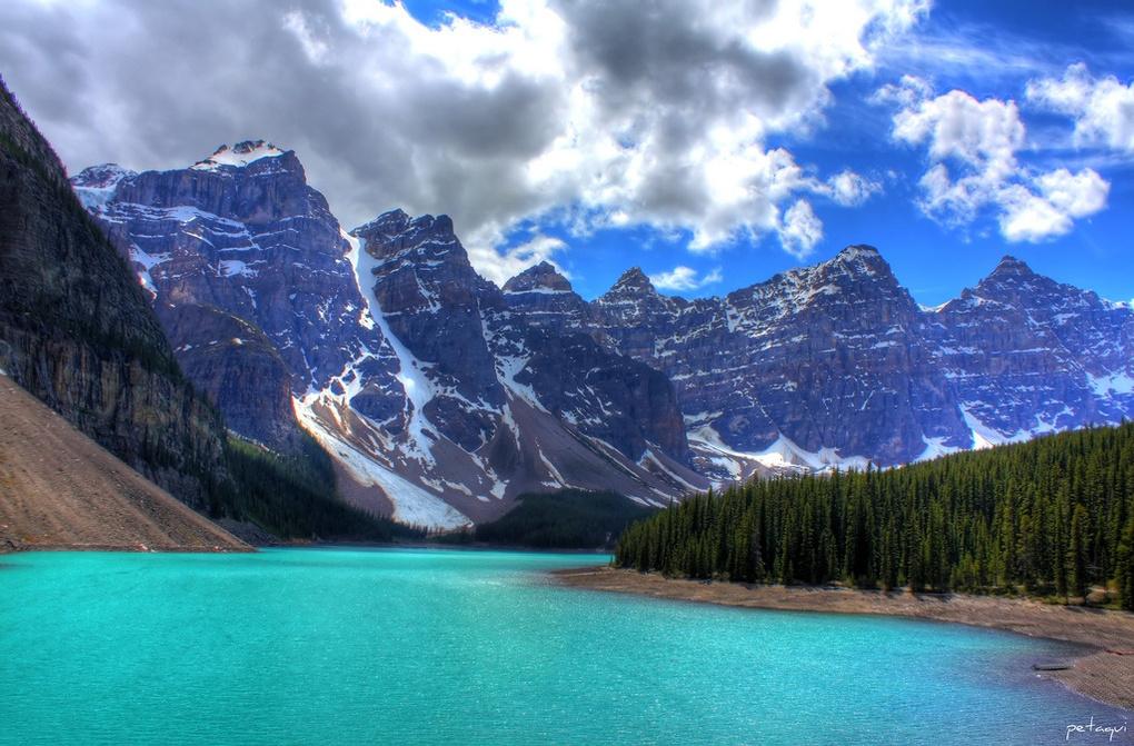HDR Moraine Lake by Alexandro Lacadena