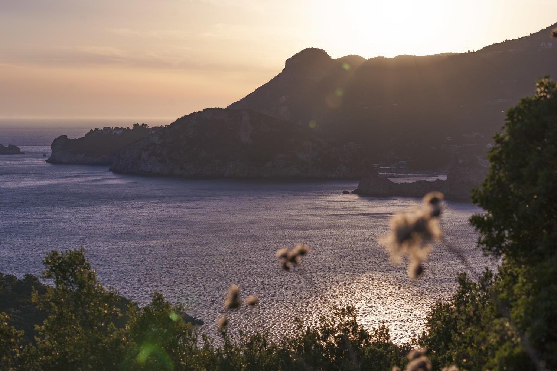Corfu sunset by Thomas Wragg
