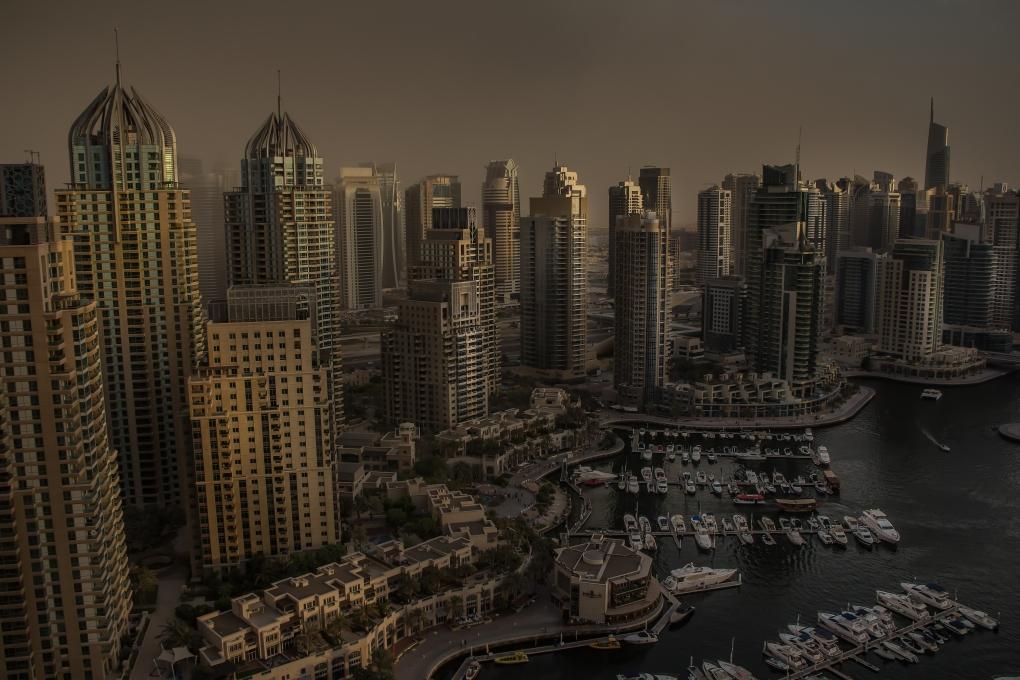 Dubai Marina by Damon McDonald