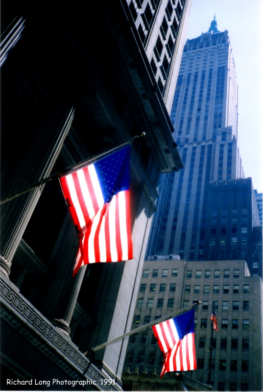 Wall Street NY  by Richard Steven Long