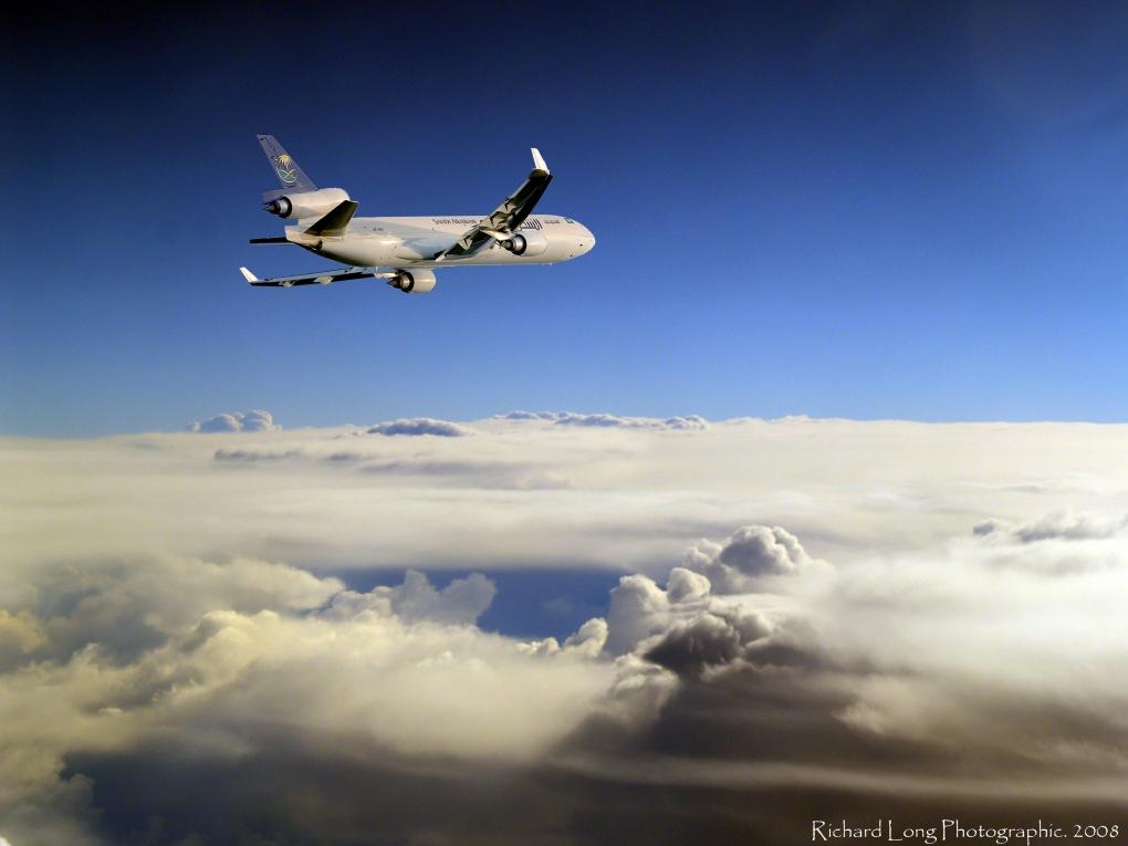Saudi Air by Richard Steven Long