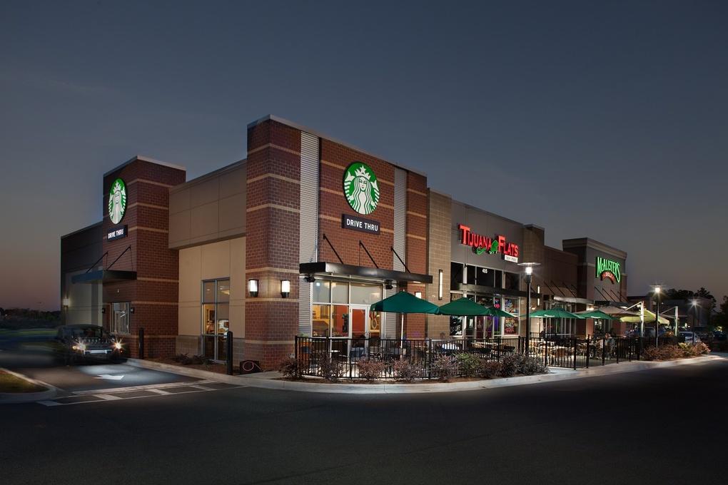 Starbucks - McAlisters by David Robinson