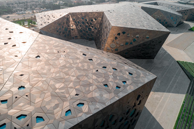 Sheikh Jaber al Ahmad Cultural Centre by Joe Unsworth