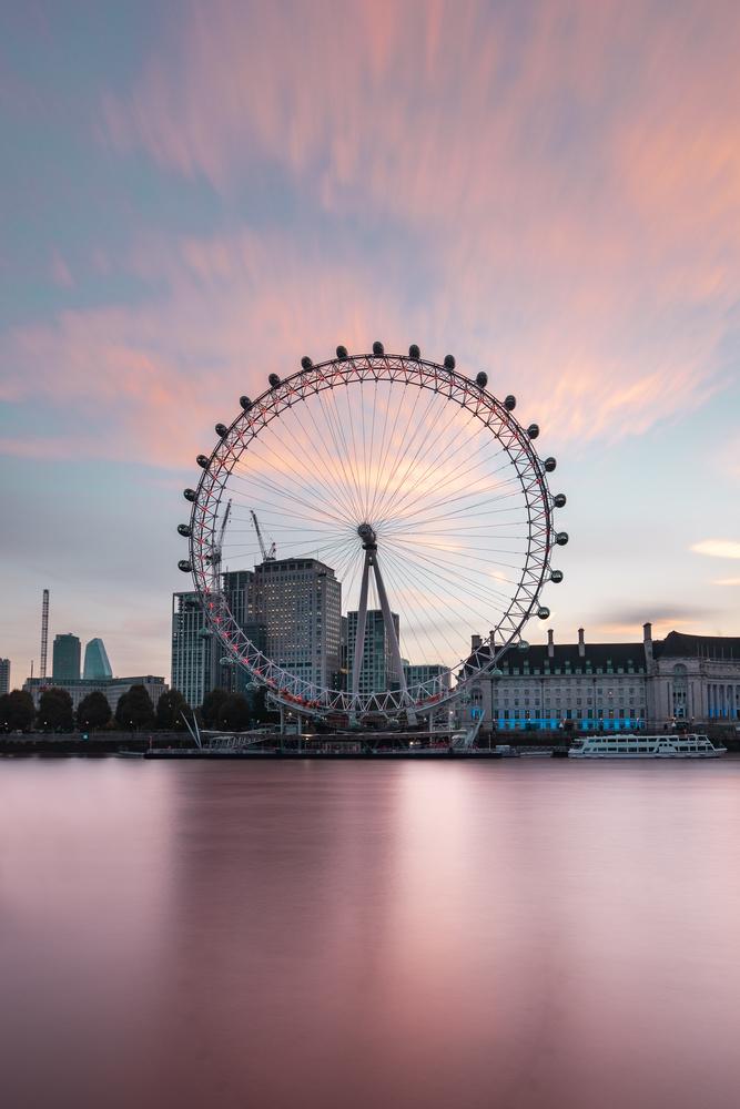 London Eye Sunrise by Joe Unsworth
