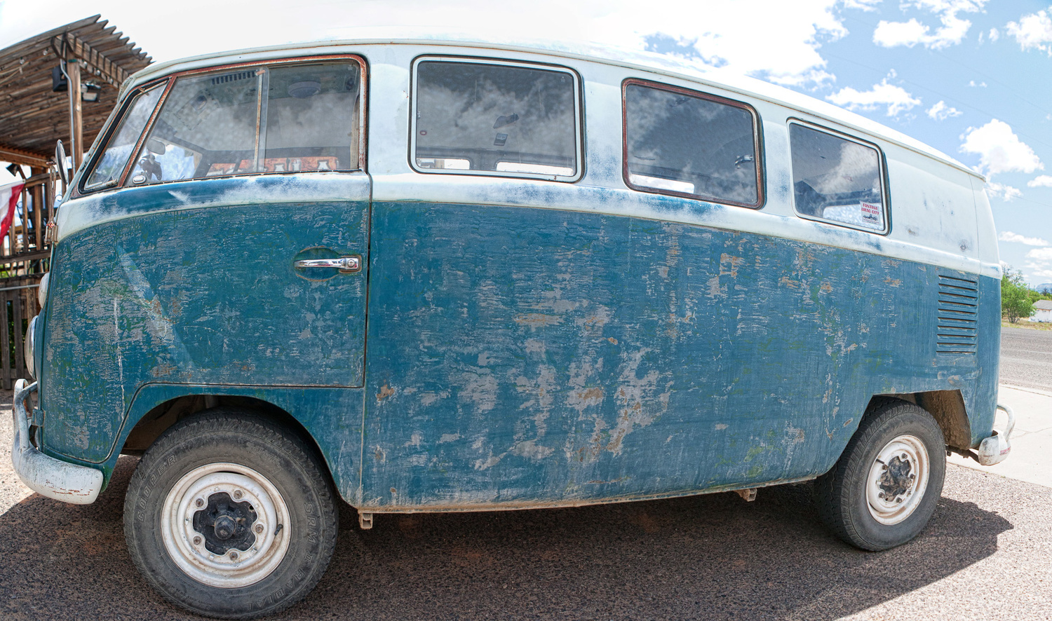 VW Bus with Perfect Patina by Gregory Scott
