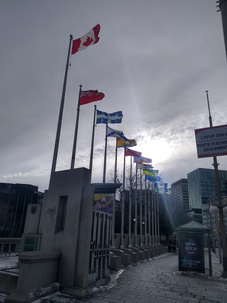 Flags of Canada by Kristopher Hebert