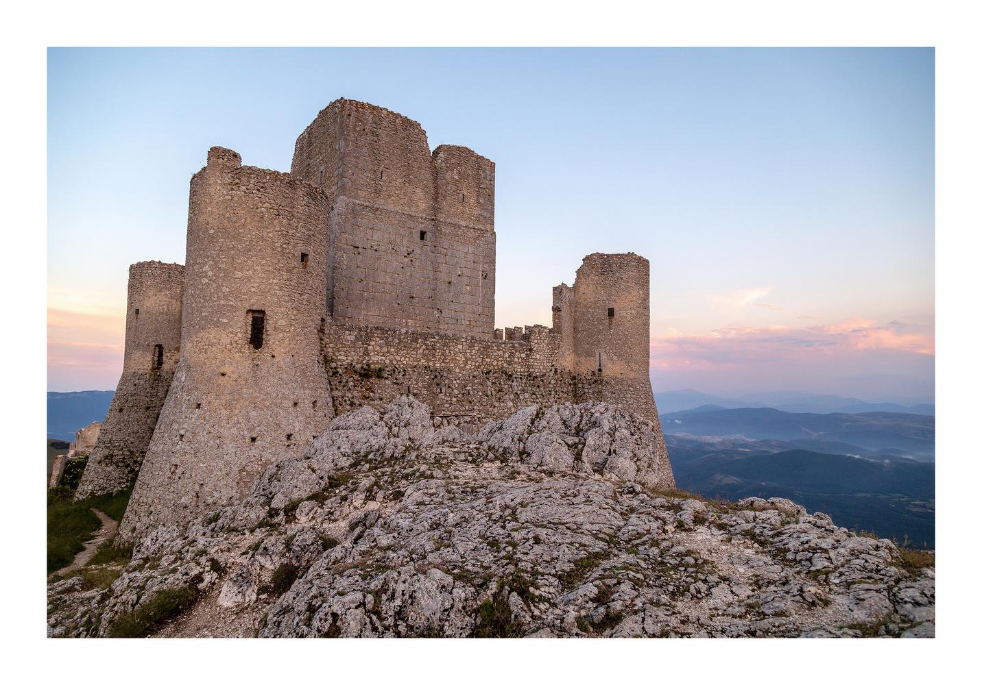 Rocca Calascio by Clare Lusher