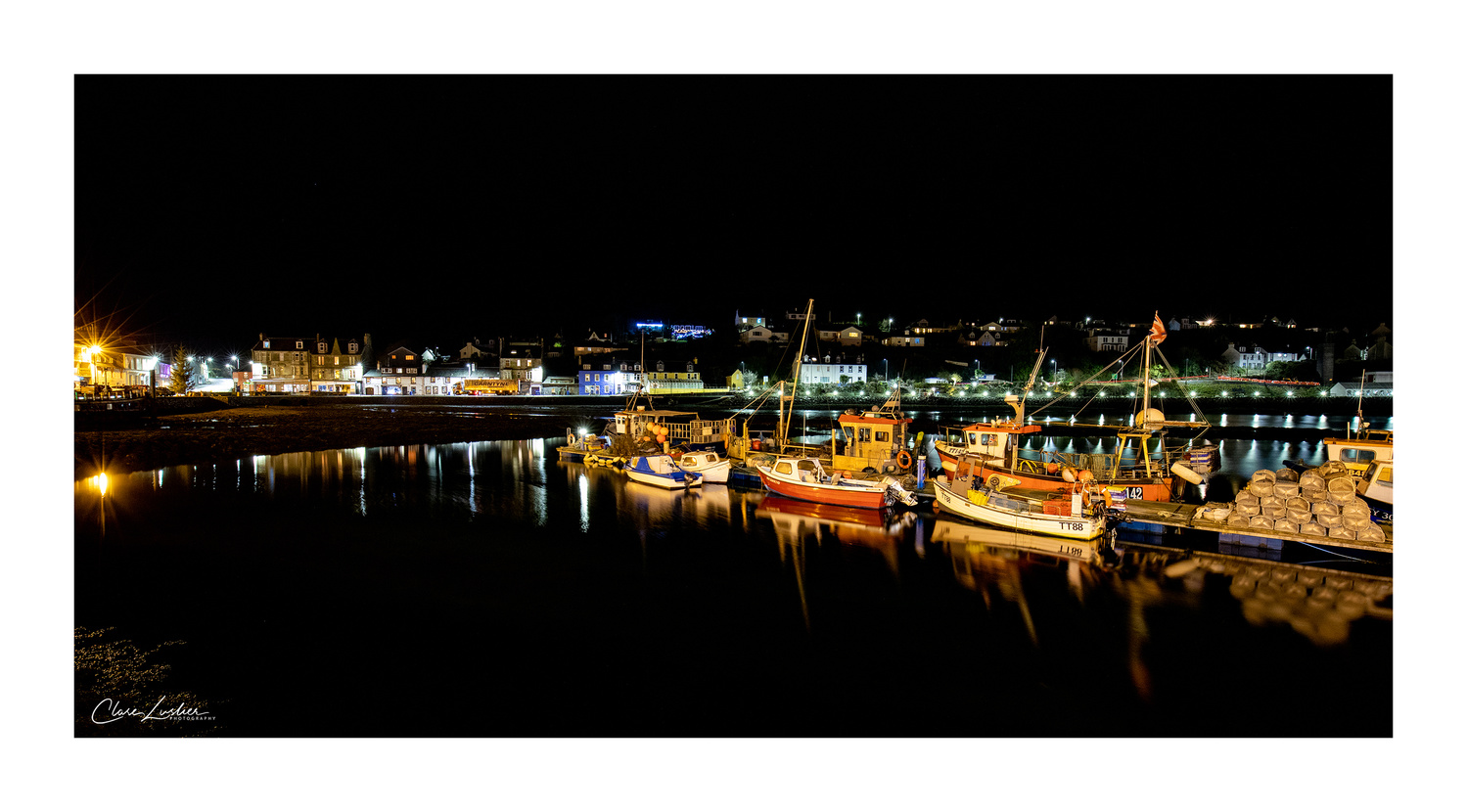 Tarbert Harbour by Clare Lusher