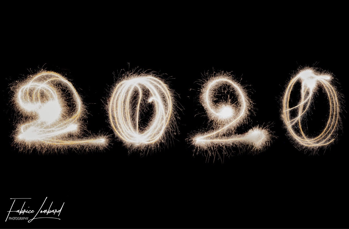 Happy new year by Fabrice Lombard