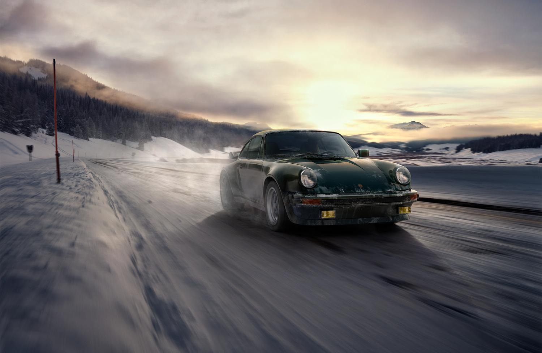 911 Classic - A snowy road trip - CG by Mainworks DE