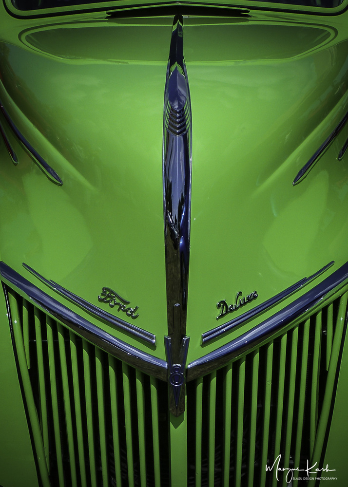 Green Ford Deluxe by Margus Kask