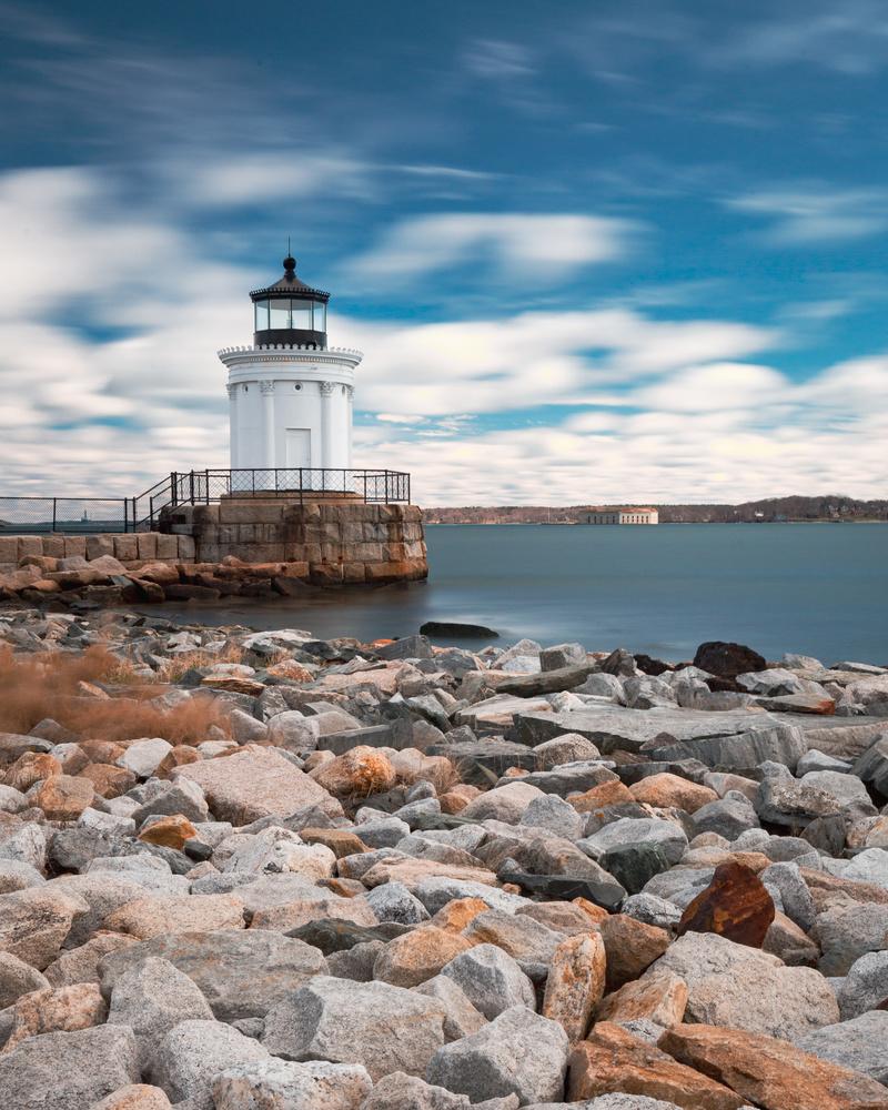 Spring Point Ledge Light by Patrick Higgins