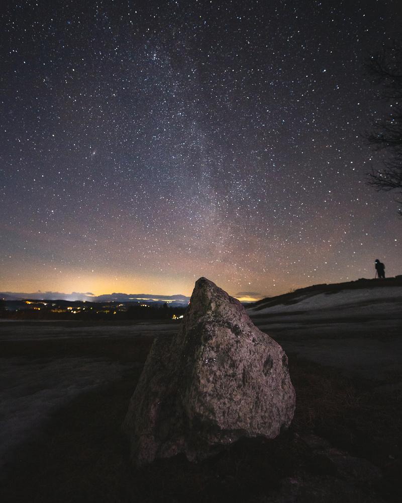 Hacker's Hill Night by Patrick Higgins