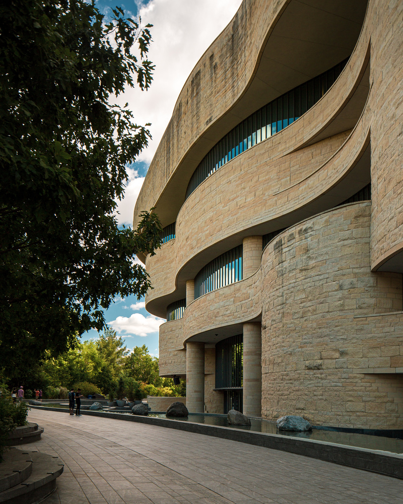 National Museum of the American Indian by Patrick Higgins