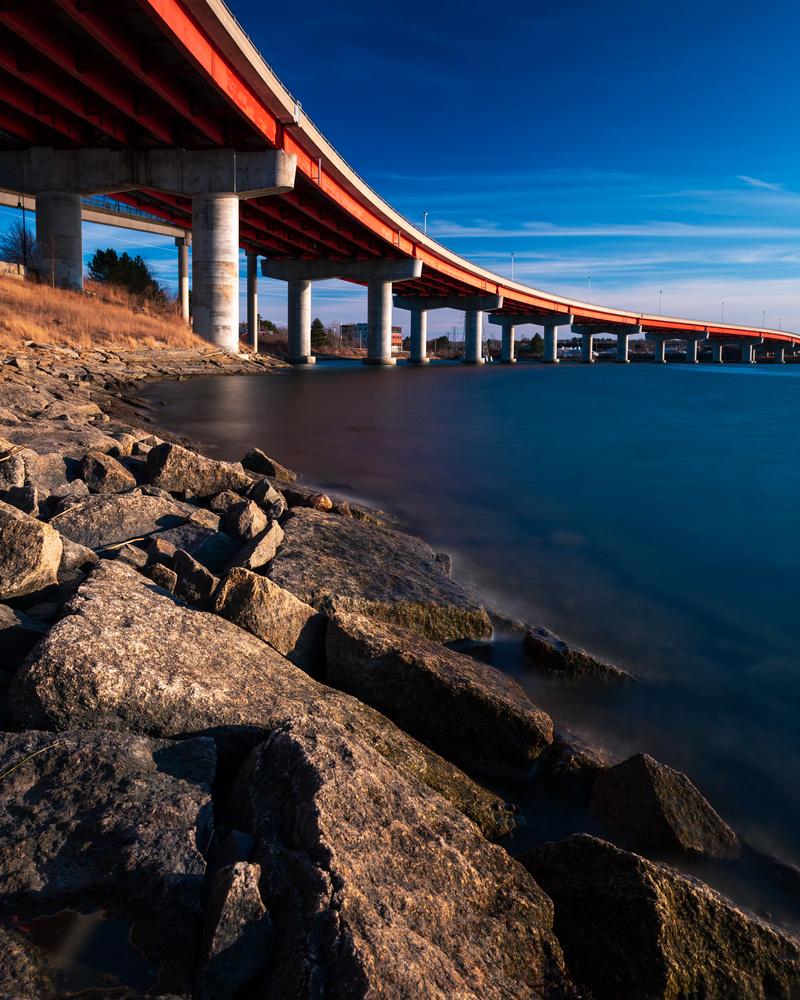 Casco Bay Bridge by Patrick Higgins