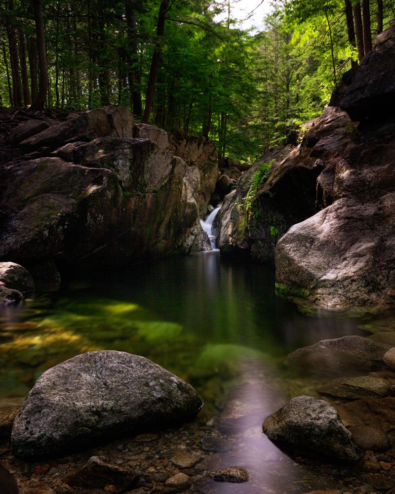 Emerald Pool by Patrick Higgins