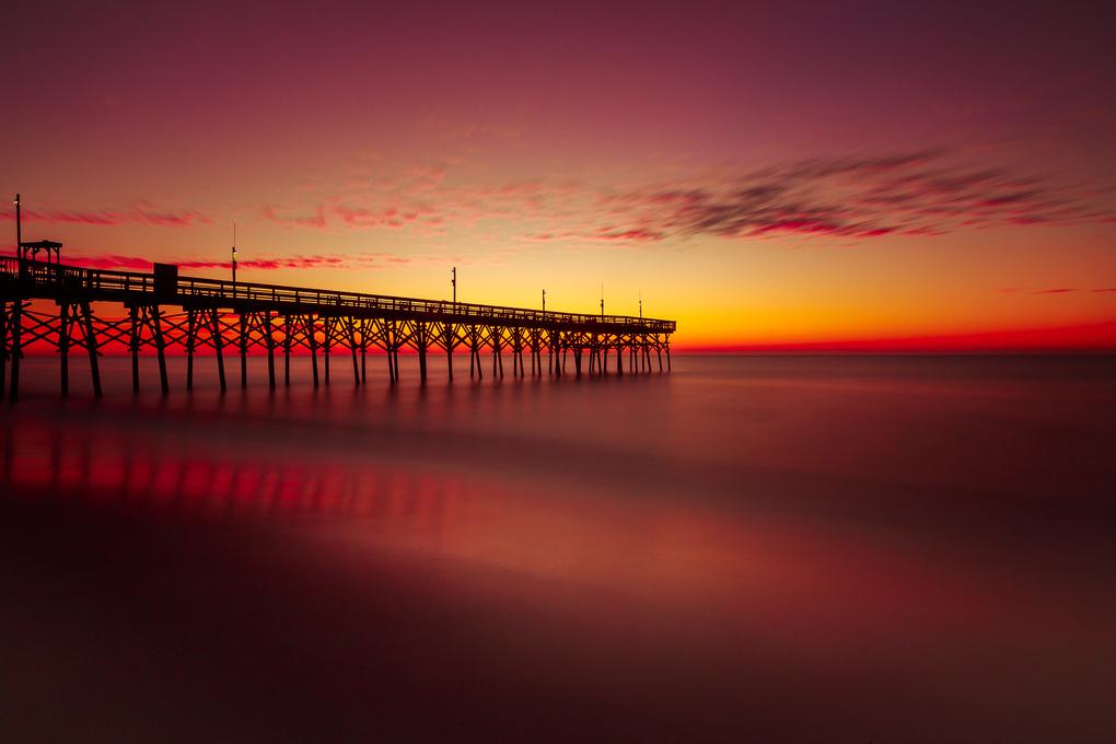 Myrtle Beach sunrise by Adam Lyon