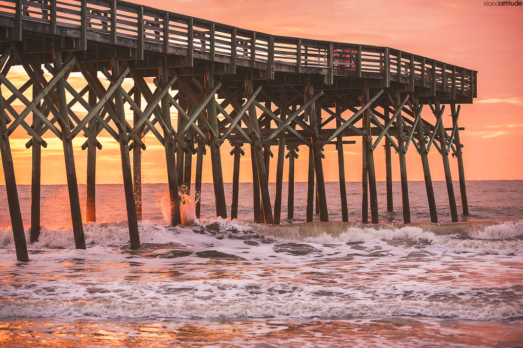Myrtle Beach sunrise by Adam Lyon