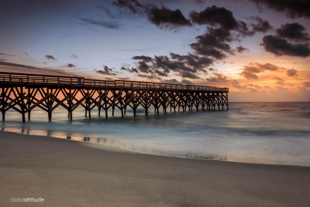 Wrightsville Beach Sunrise by Adam Lyon