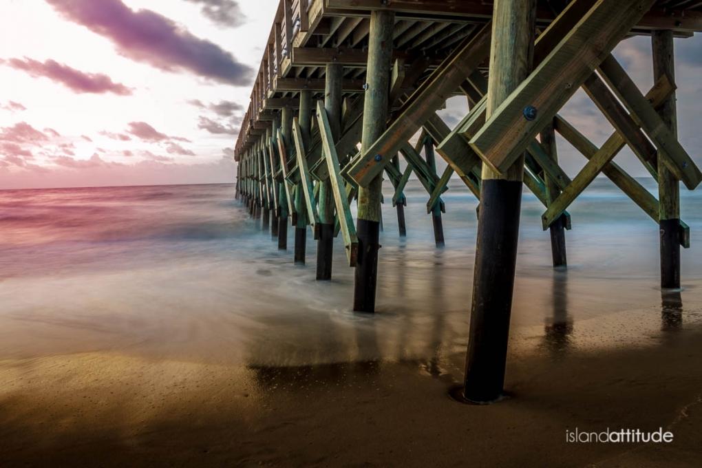 Wrightsville Beach Pier by Adam Lyon