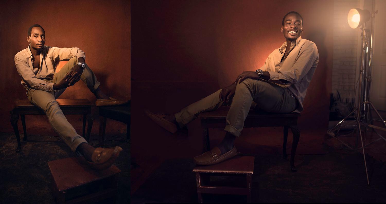 Fashion Editorial Portrait  by Eli Dreyfuss