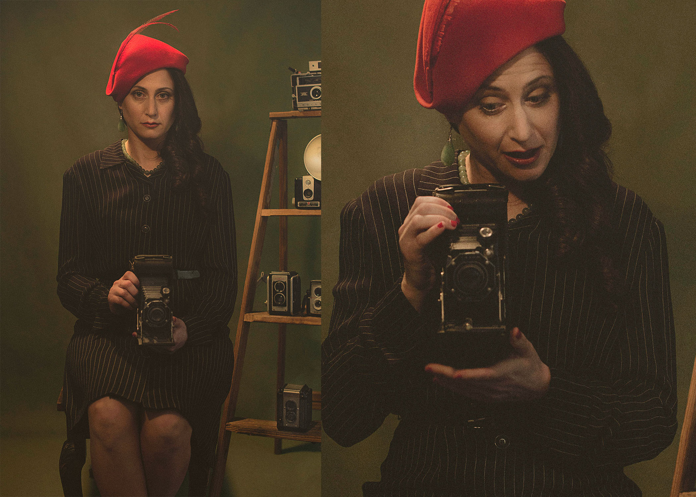 1920's Photographer by Eli Dreyfuss