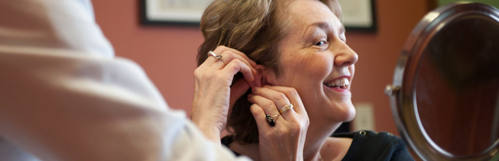 Trying Out Hearing Aids by Tim Steele