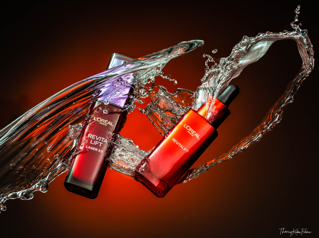 Product splash by Thierry KUBA