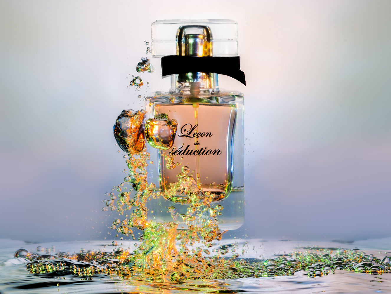 Bubble fragrance by Thierry KUBA