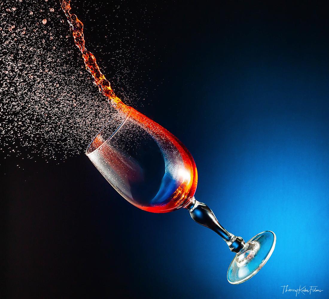 Splash glass by Thierry KUBA