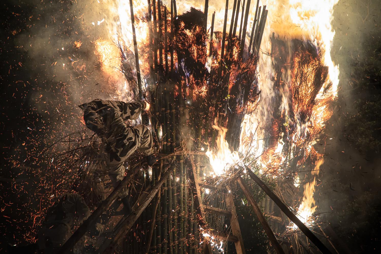 Into The Flame by Takeshi Mitamura