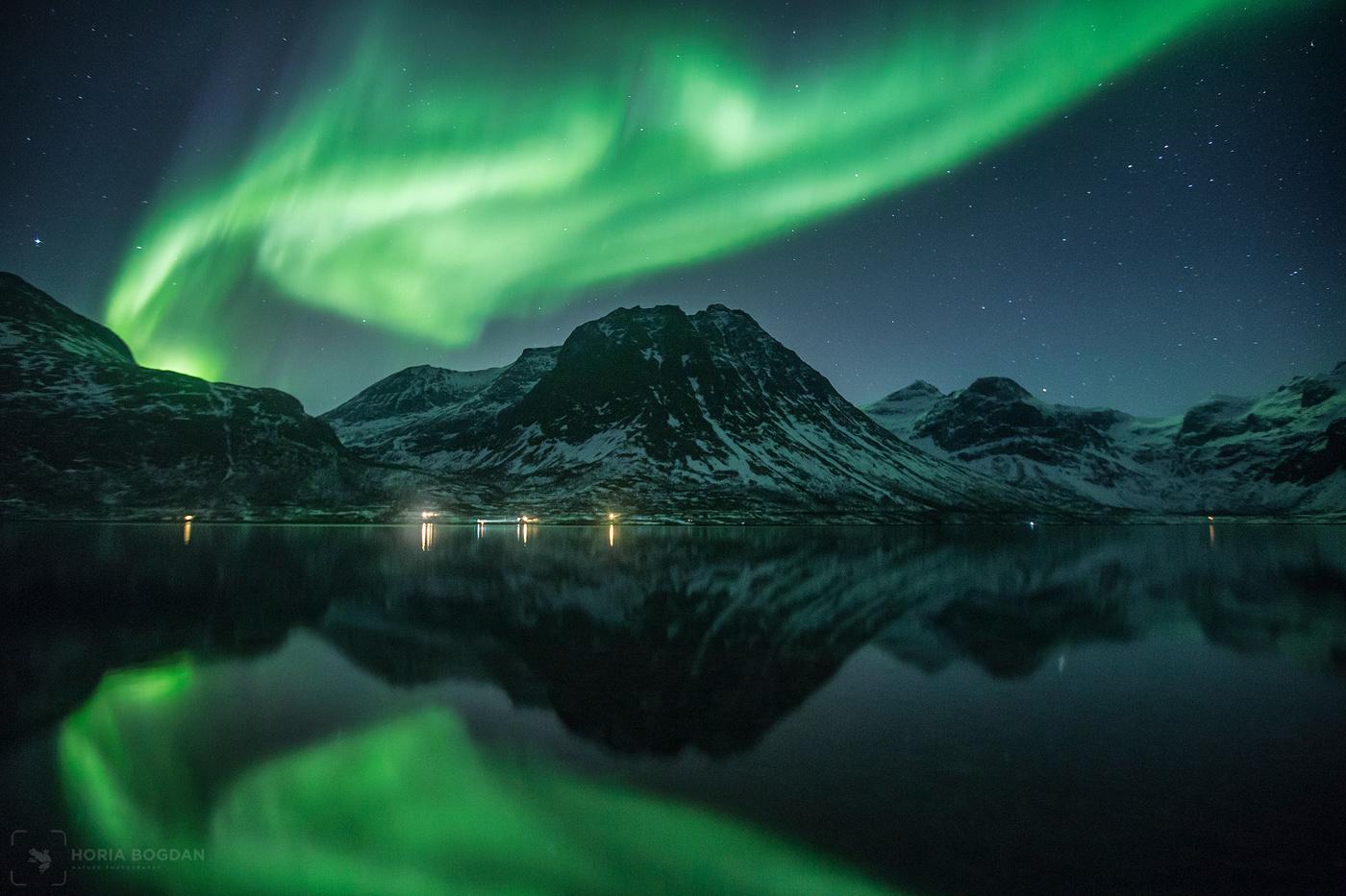 Grotfjord reflections by Horia Bogdan