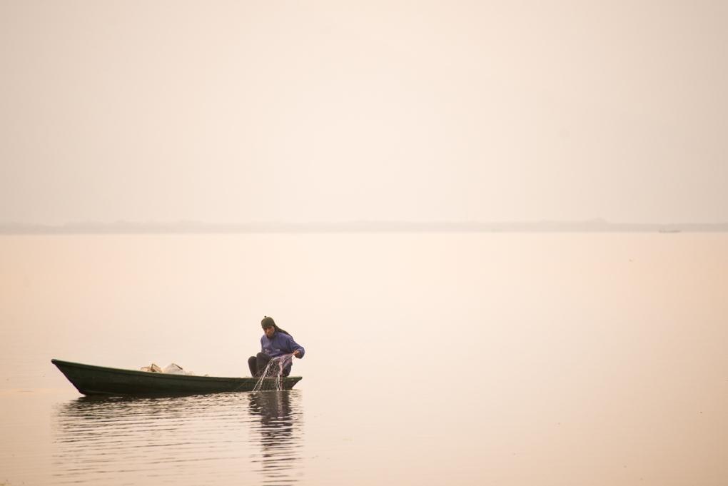 Haze fisherman by Yonathan Russak