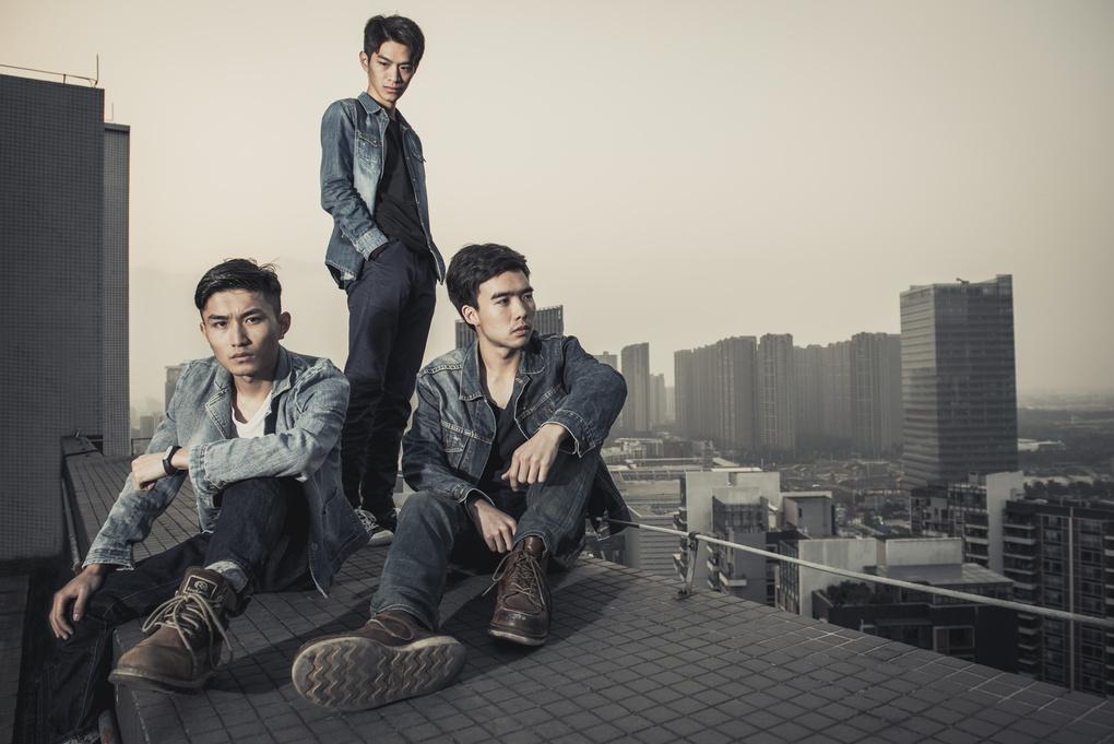 Denim Boys  by Jay Kan