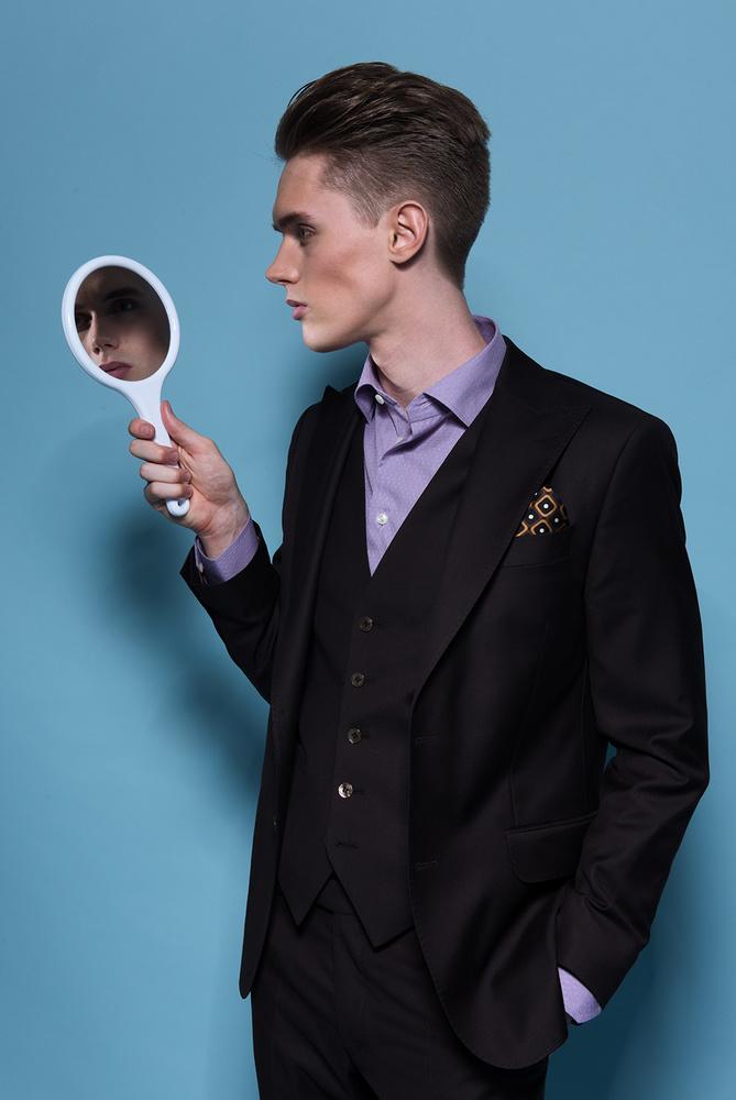 Man in the mirror by Jade Hannah