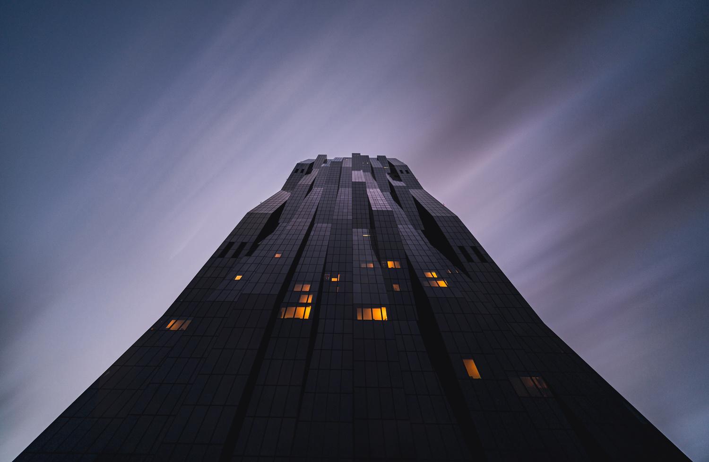 Black monolith by Fabian Pfeifhofer